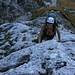 schöner, fester Fels im Aufstieg zum Geiselstein