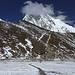 Way to Kala Pattar. In Europa ein Spaziergang. Hier eine anstrengende Wanderung