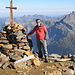 Auf dem Gipfel des Bristen 3073m