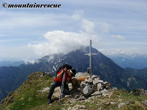 KLeines, aber feines Gipfelkreuz auf der Hohen Zölz