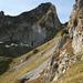Picture for [u Alpin_Rise] to study the access to Schwarzchopf from east  Ist wohl eher gefährlich als vertrettbar, siehe mein [http://www.hikr.org/gallery/photo20674.html#c136347 Komentar]