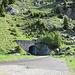Alpe Cadinello: versante ticinese della galleria