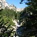 oberhalb vom Wasserfall, Aufstieg zum Studegg