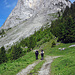 Start bei der Alp Ramsere, Mittagflue