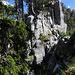 Schlüsselstelle, Felsstufe auf dem Grat