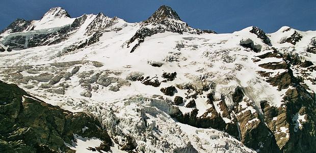 Panorama Oberer Grindelwaldgeltscher.