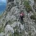 Im Abstieg über den Glegghorn-Ostgrat.