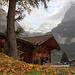 Im Hintergrund der Untere Grindelwaldgletscher