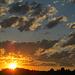 ein farbenfroher Abendhimmel beschließt meinen schönen Tag