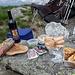 ...Il ns. lauto pranzo in vetta alla cima sud del pizzo Alzasca m. 2260