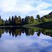 Gespiegelter Herbst am Obersee