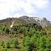 Der Blick vom Muotta Preir (P. 2226) Richtung Piz Mezdi mit der Aufstiegsroute