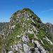 Eine der vielen Erhebungen auf dem Grat, wohl Pt2079