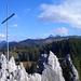 Blick vom Chli Schijen auf den Druesberg: vor knapp drei Stunden stand ich noch dort oben.