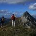 Arcalod vu du sommet du Mont de la Coche (Savoie)