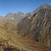 la Val Sagliains, dominata dal Piz Linard e dai Plattenhörner