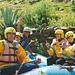 Peru Trip 2003- River Rafting auf einem wilden Bergfluss in Peru