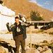 Peru Trip 2003 - mit einem Adler auf der Schulter