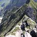 Abstieg - diesen Weg wollte ich eigetlich auch im Aufstieg gehen.