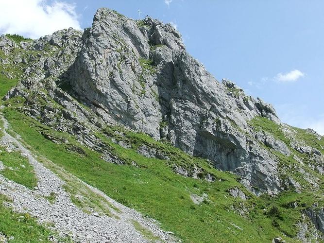 Klettersteig Zittergrat : Brunnistöckli der zittergrat klettersteig führt dem hikr