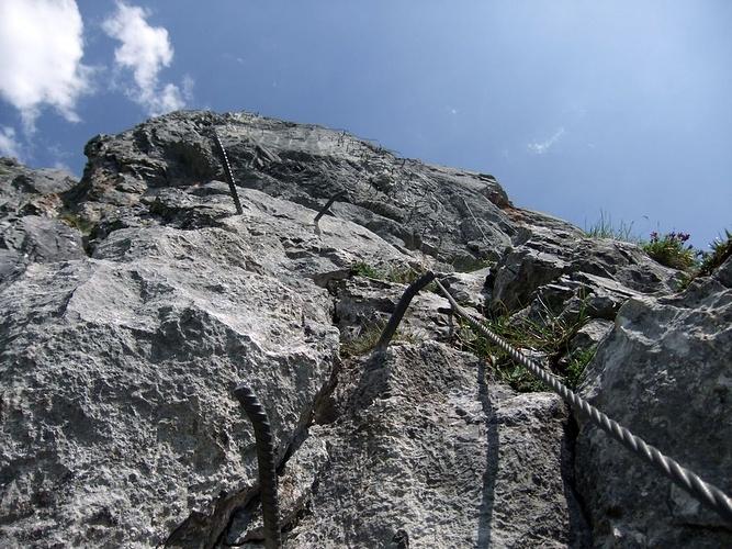 Klettersteig Zittergrat : Zittergrat klettersteig fotos hikr