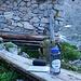 Zweites Frühstück am Steinhütterl auf etwa 2000m.