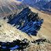 Piz Griatschouls Ost-Grat von Gipfel gesehen