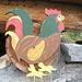Anche all'Alpe Costa vi è una certa predilezione per galli e galline!