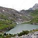 Blick über den Schwarenbachsee Richtung Gemmi