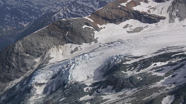 Gletscherabbruch - Allalingletscher