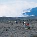 Trägerzug in der Hochgebirgs-Wüste