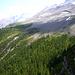 """""""Felsenpfad"""" entre Fisalp et la Doldenhornhütte visible au fond"""