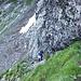 Der Kettenabschnitt im Aufstieg auf den Forstberg ist nun hinter uns.