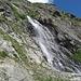 Wasserfall des Torrent de Treutse Bô