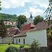 Bergkirche in Zwingenberg bei (noch) schönem Wetter