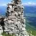 Gipfel-Steimanndli vom Hüser-Westgipfel