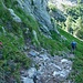 Tome-Spluga, unterwegs zum Uebergang 2140m Bocchetta del Sasso Bello