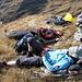 Im Anschluss auf dem Gipfel des Heij Barg 2472m. Dolce vita - far niente