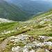 Al passo, incontriamo 5 escursionisti di lingua tedesca che vanno verso Bivio