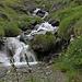 Una lunga serie di cascate che dal Fluesee scende a Juf.