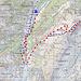 Routenübersicht Karte