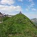 alpinbachi  9Uhr auf dem Gipfel
