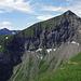 Sulegg: Tour vom Juli 2012 [tour52921 Rundtour Lobhörner und Sulegg], etwa Bildmitte Bergweg von der Lobhornhütte her kommend