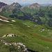 Aufstieg via den Hütten, Abstieg direkt zu der ersten Hütte zwischen den Schneefeldern durch