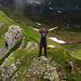 """der alpinbachi steht """"nur"""" auf dem Grat [u Felix] und [u Ursula] sind hier über den Grat gekraxelt [tour15946 Gesamtüberschreitung Simelihorn (2751 m.ü.M.) - Reeti (2757 m.ü.M.)]"""