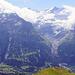 Panorama der Berner alpen noch etwas wolkig...