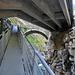 Drei Generationen: Napoleonische Brücke (Ponte alto), neue Strassenbrücke, Fussgängersteg