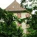 Schloss Horben, obwohl im Kt. Aargau liegend, hat es solothurnische Fensterläden...