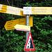 Start bei St Niklausen, Abzweigung Habkern