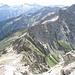 Cresta del Piatto e Rosso. (sulla verticale del Monte Zucchero e della bocchetta a destra del Pizzo della Vena Nuova c'è l'elevazione della Cresta del Piatto sulla quale sono salito)